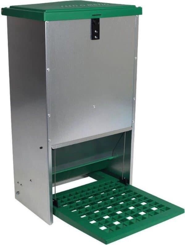 Automatische voerbak (trapbak) 20kg