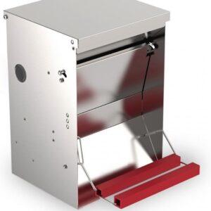 Automatische voerbak (trapbak) 6kg