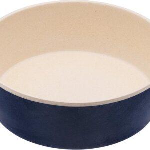 Bamboe voerbak/waterbak voor honden - duurzaam & trendy - Beco Printed Bowls in 5 Kleuren in 2 maten - Kleur: Blauw, Maat: Large - 1650 ml