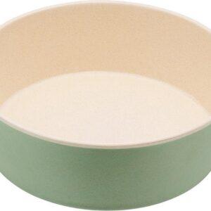 Bamboe voerbak/waterbak voor honden - duurzaam & trendy - Beco Printed Bowls in 5 Kleuren in 2 maten - Kleur: Mint, Maat: Small - 800 ml