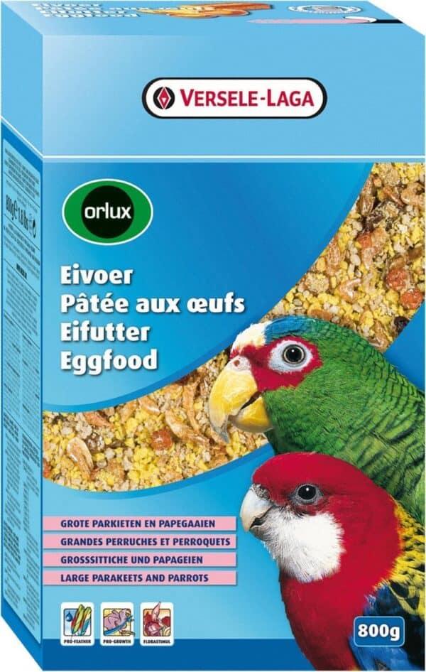 Orlux Eivoer Droog Grote Parkiet/Papegaai 800 Gr