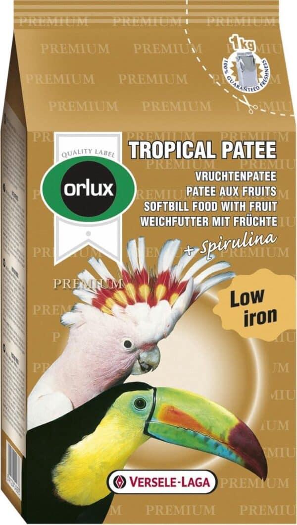 Orlux Premium Tropical Patee Vogelvoer - Vruchtenpatee - 1 kg