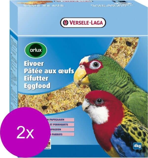 Versele-Laga Orlux Eivoer Droog Gropar/Papagaai - Vogelvoer - 2 x 4 kg