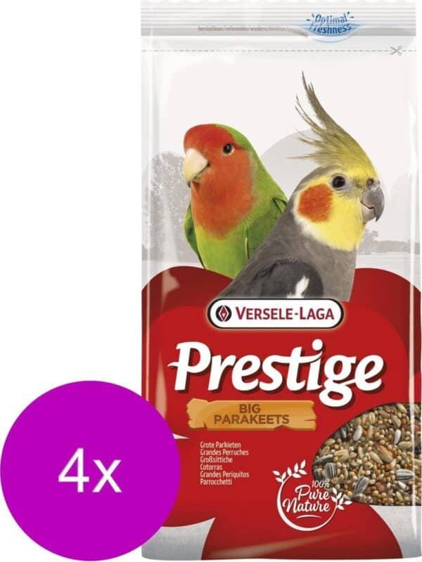 Versele-Laga Prestige Grote Parkieten - Vogelvoer - 4 x 1 kg